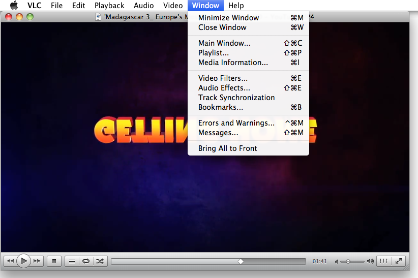 MacでVLC 動画を回転