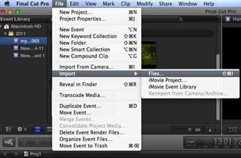 MacでQuickTimeを編集