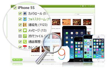 iskysoft iphoneデータ復元を使用する場合のメリット