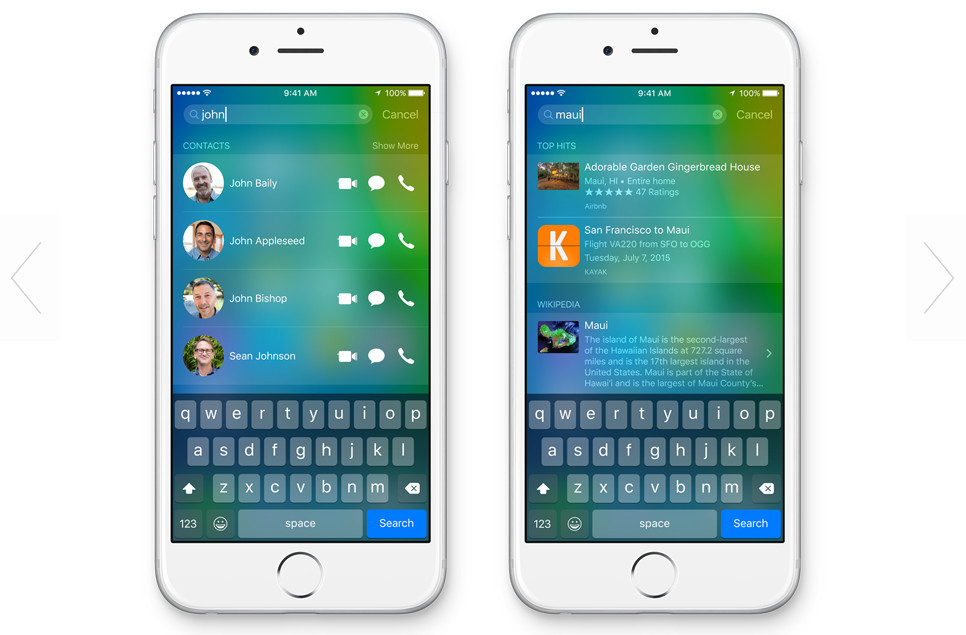 iOS9の連絡先の新機能とアップデートによるデータ破損の対策