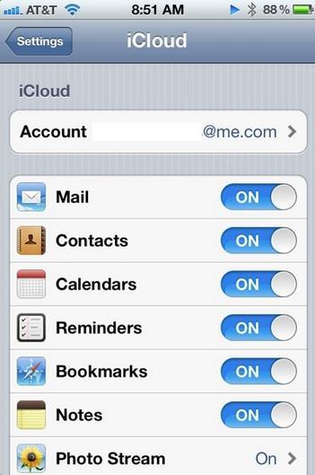 iPhone6でApple iCalと同期する
