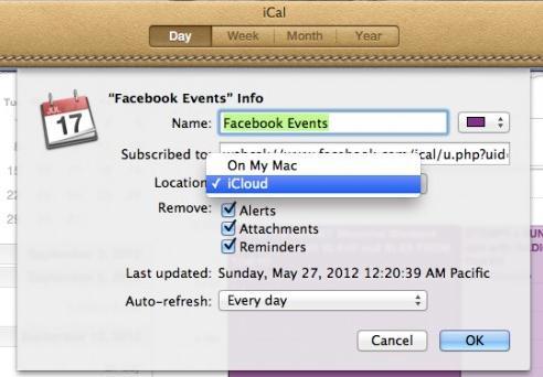 iPhone6でiCalを同期する方法