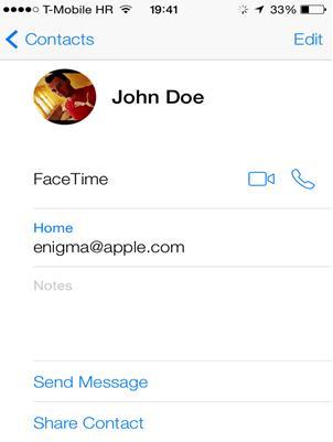 iPhoneの連絡先をGmailに同期する