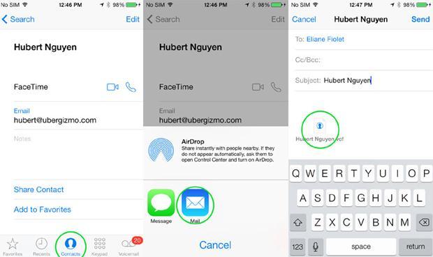 iPhone6からAndroidへのアドレス帳同期方法