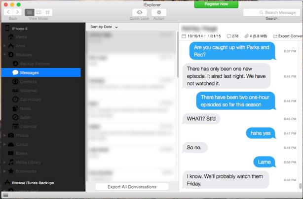 iPhone6メッセージの同期 icloud