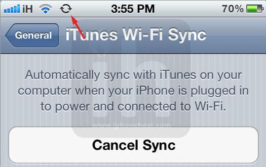 iPhone6を無線で同期する方法(無線経由で)