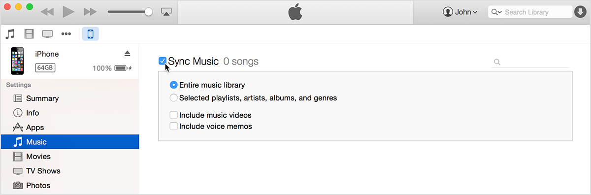 iPhone 6へ音楽を同期させる簡単な二つの方法