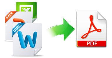 word、Excel、PPTなどのファイルをPDFに作成