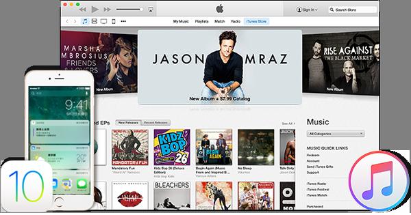 iTunes12の音楽がデバイスと同期できない
