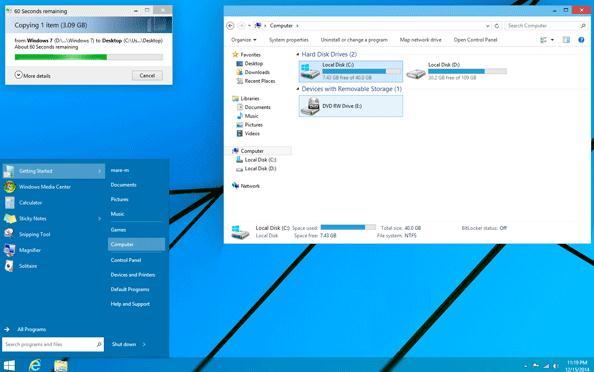 windows8 1とwindows7の見た目をwindows10のようにするテーマのダウンロード
