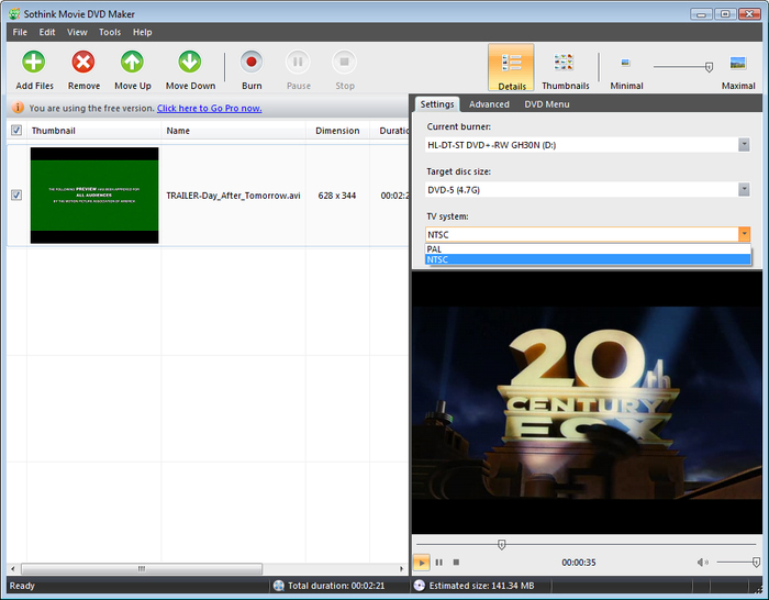 sothink dvd movie maker