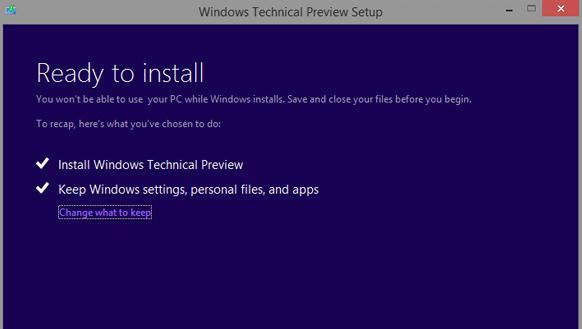 windows 10 セットアッププロセス